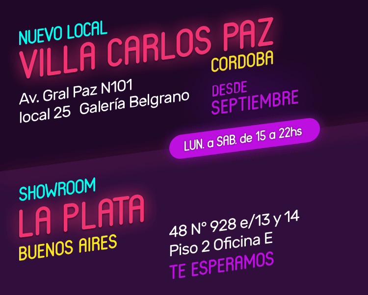 Nuevo local Villa Carlos Paz