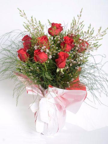 Florero Rosas