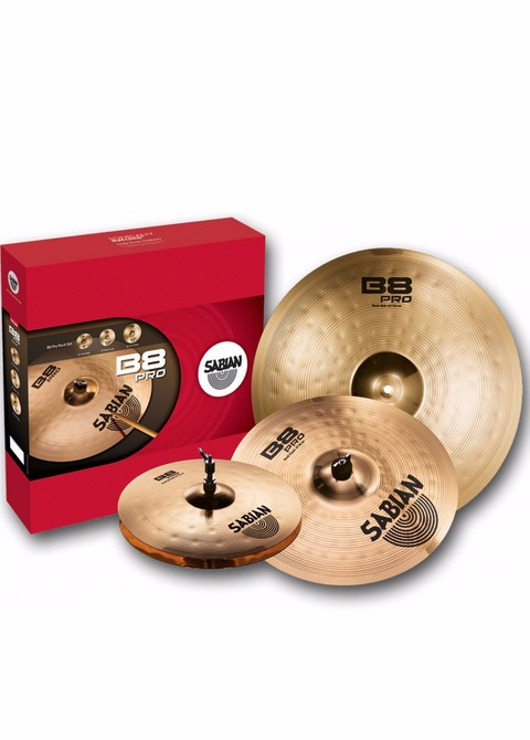 Set Platos Sabian B8 Pro Set
