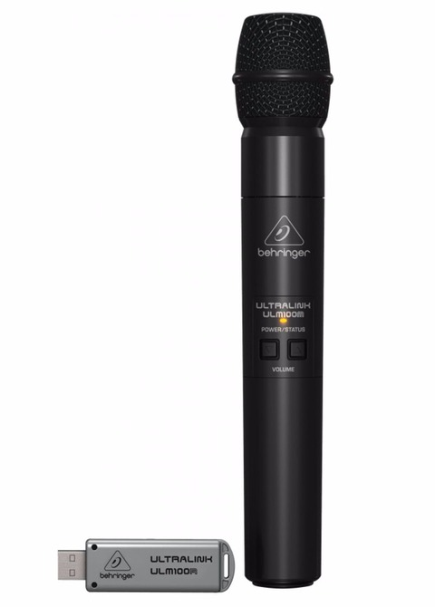 Micrófono Inalámbrico Behringer ULM100 Usb