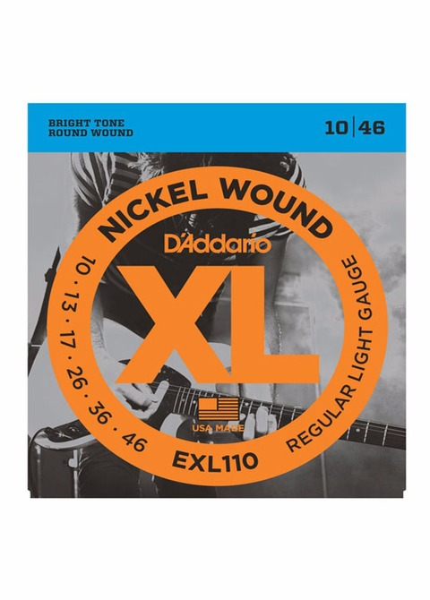 Encordado Electrica D'addario EXL 010