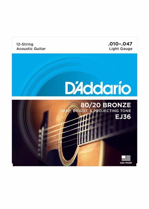 Encordado Guitarra Acústica D'addario EJ36