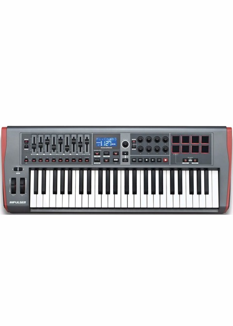 Controlador Midi Novation Impulse 49