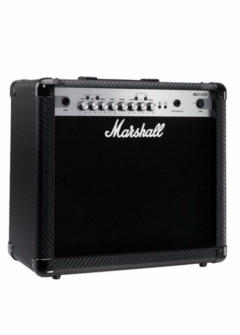 Amplificador para guitarra Marshall MG30CFX Fibra de Carbono