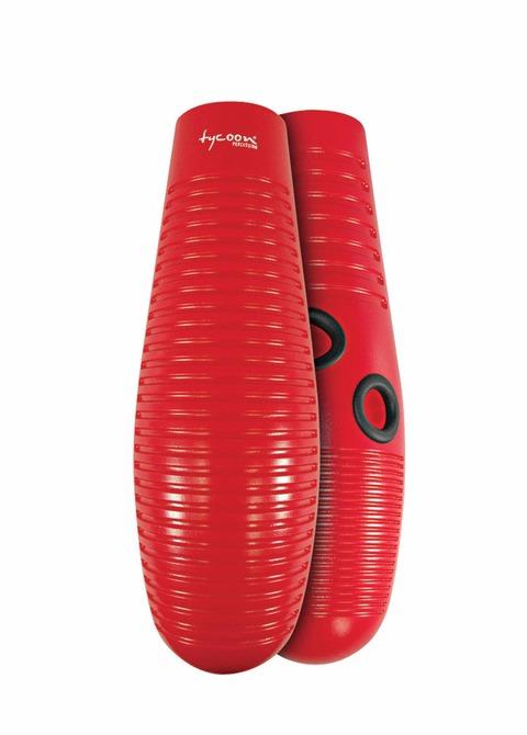 Guiro Plástico Tycoon Rojo