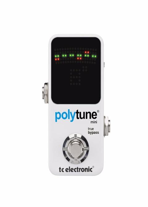 Pedal Tc Electronic Afinador Mini Polytune 2