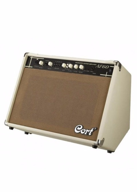 Amplificador Guitarra Acústica Cort AF-60