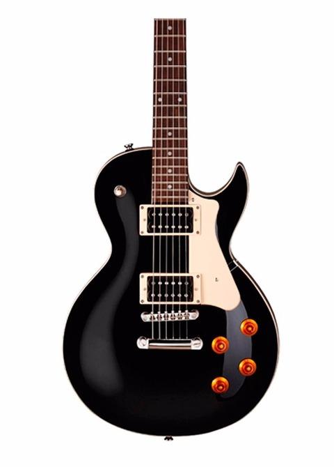 Guitarra Eléctrica Cort CR100 LP BK