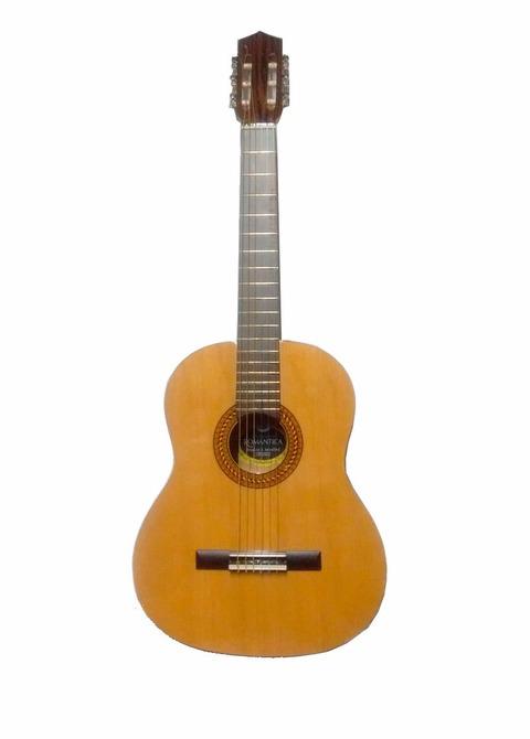 Guitarra Clásica Romántica AAP Estudio Natural