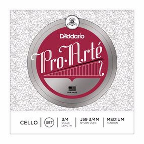 Encordado Cello D'addario Pro Arté J59