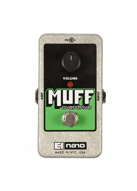 Pedal Bajo Electro-Harmonix Nano Muff Overdrive