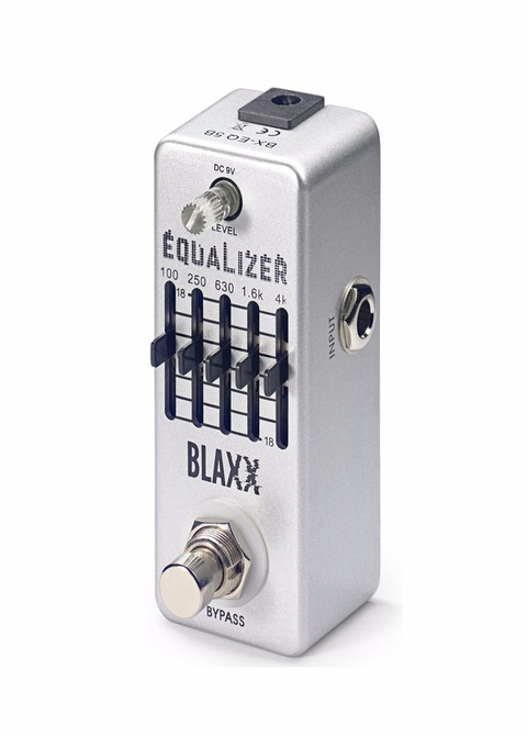 Pedal Guitarra Eléctrica Stagg Blaxx Equalizer