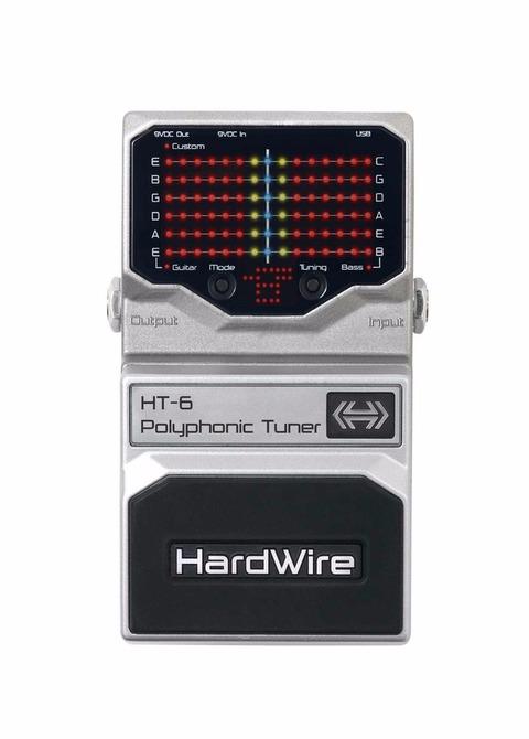 Pedal Afinador Digitech Hardwire HT-6