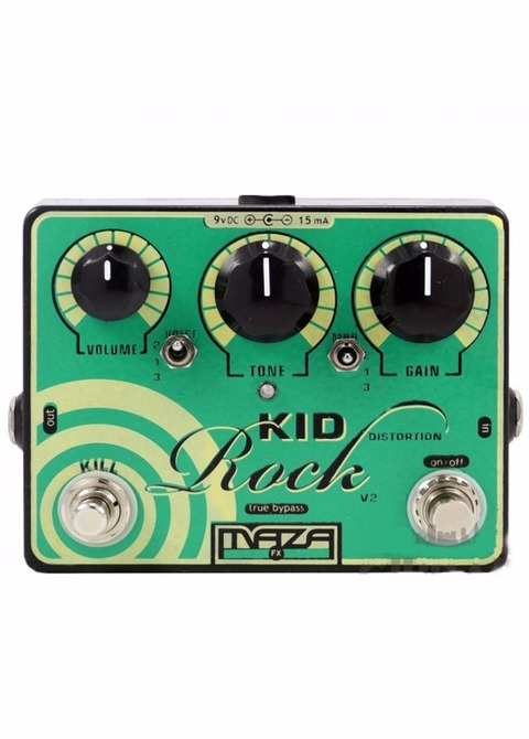 Pedal Maza Kid Rock Distortion