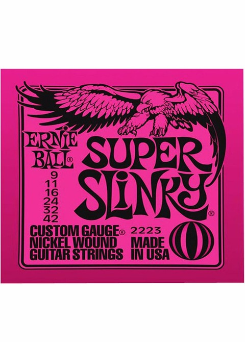 Encordado Guitarra Eléctrica Ernie Ball 009