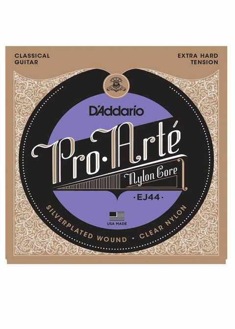 Encordado Guitarra Clásica D'addario Pro Arté Extra Hard Tension