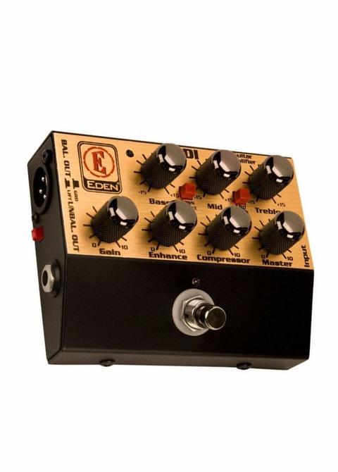 Pedal Bajo Pre-amplificador Eden WTDI