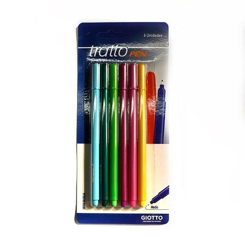 Microfibra Tratto Pen x6