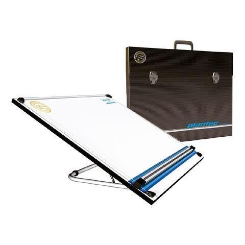 Set tablero portatil con paralela, atril-6 posiciones y maletín - 50x60