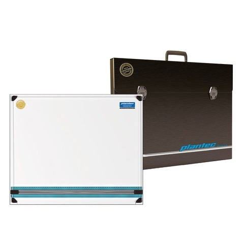 Set tablero portatil con paralela y maletín – 50 x 60 cm