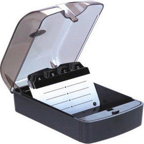 Porta Tarjetas de escritorio con índice