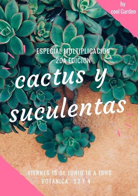Taller de Cactus y Suculentas