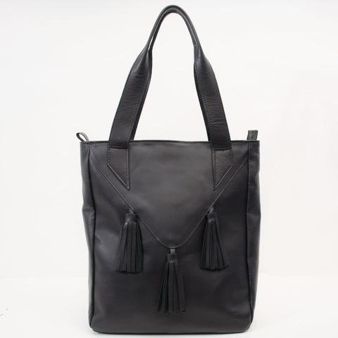 Tote Bag Loana Cuero Negro