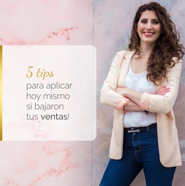 ↘ ¡5 TIPS PARA APLICAR HOY MISMO SI BAJARON TUS VENTAS!