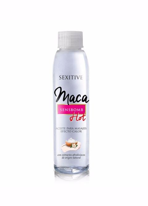 Aceite para Masajes Efecto Calor Maca