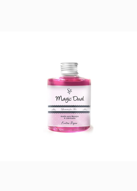 Aceite & Lubricante Magic Dual Frutos Rojos