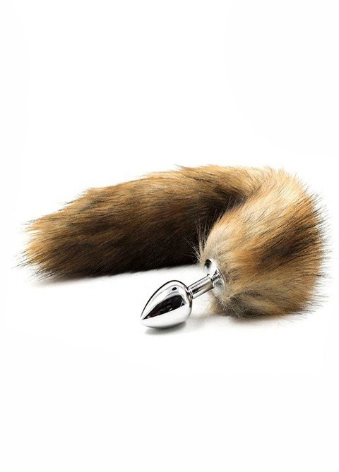 PlugTail Fox Anal Plug Brown
