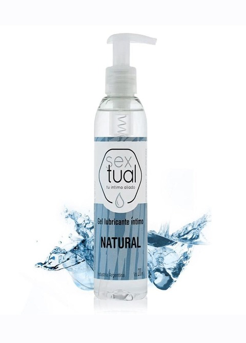 Gel Lubricante Intimo Natural Sextual