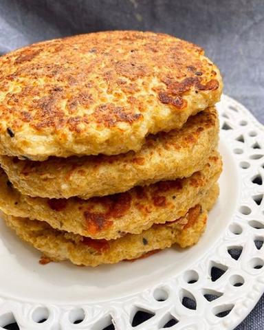 Pancakes de Quinoa y Quesito