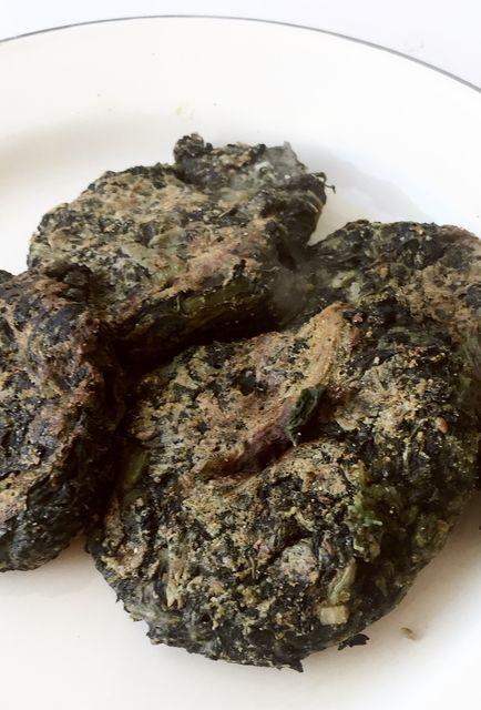 Buñuelos de acelga veganos y sin gluten