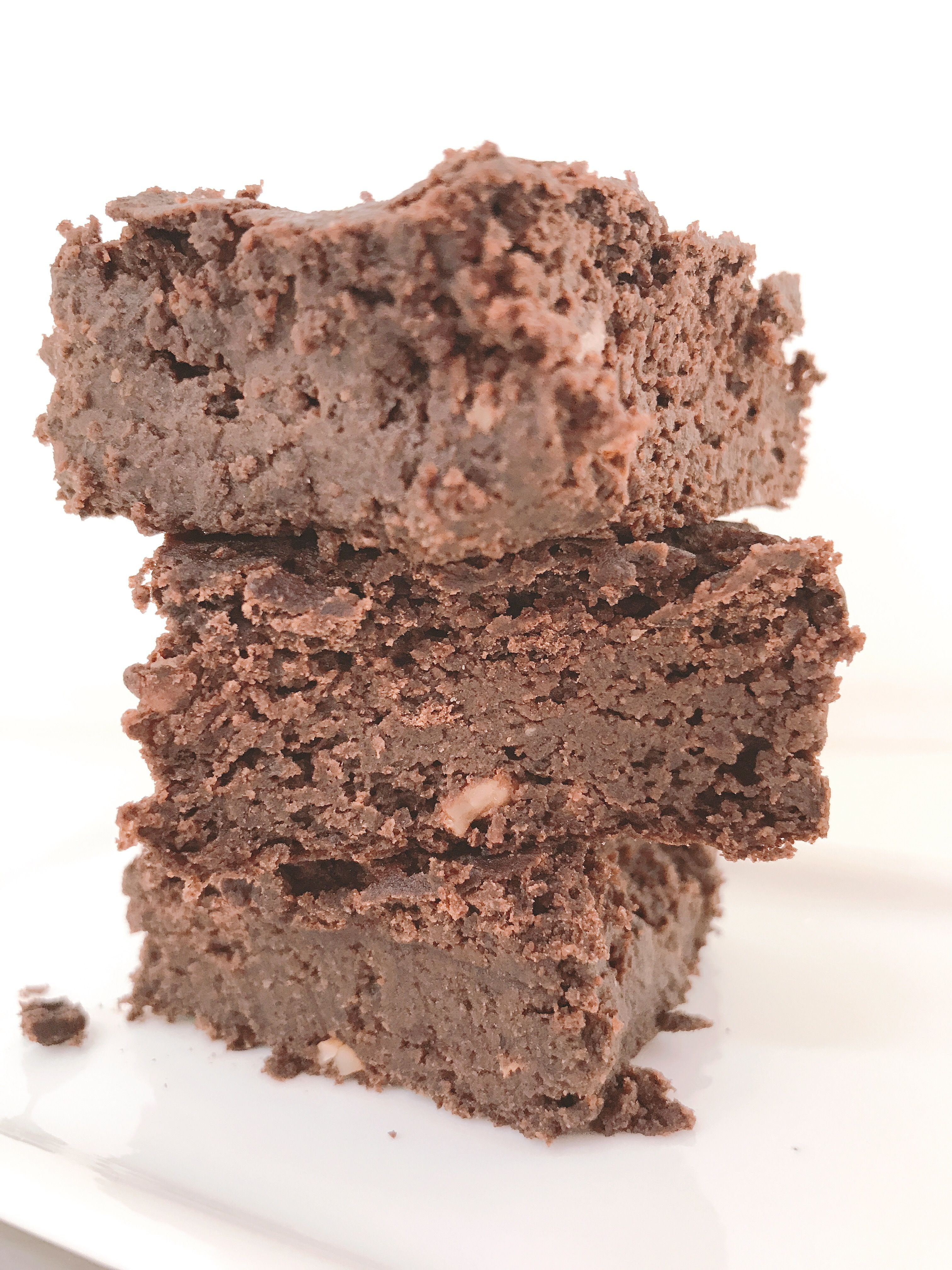Brownies de porotos negros
