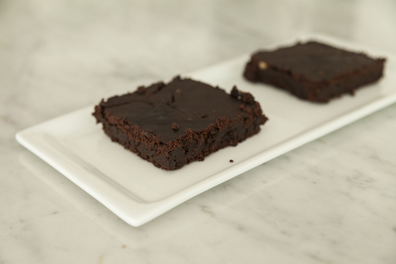 Brownies sin harinas. Con un ingrediente secreto