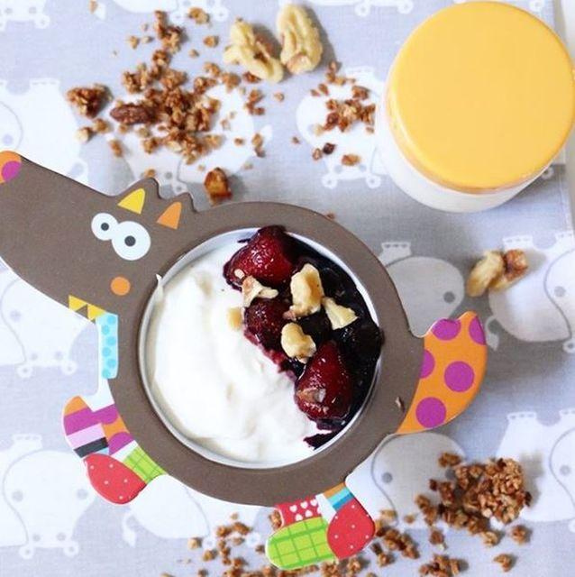 Yogurt casero tipo griego sin lienzo! #12meses