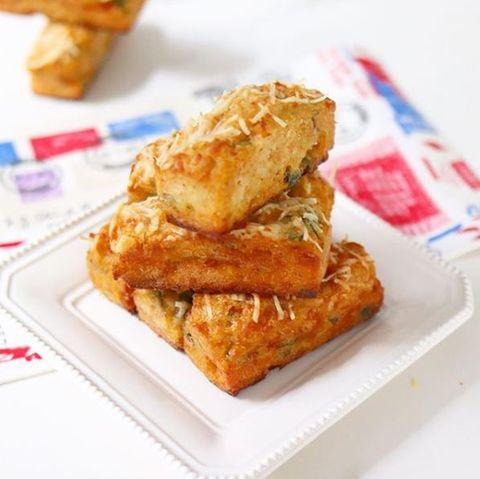Muffins salados de zanahoria rallada