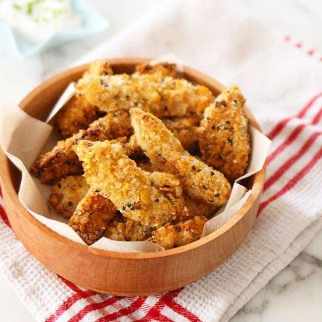 Tiritas de pollo crispy