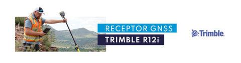 Receptor GNSS Trimble R12i con tecnología TIP