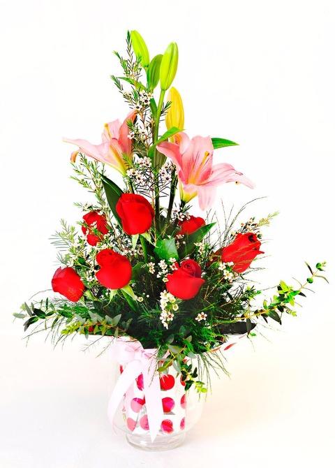 La copa: 9 rosas y lilum