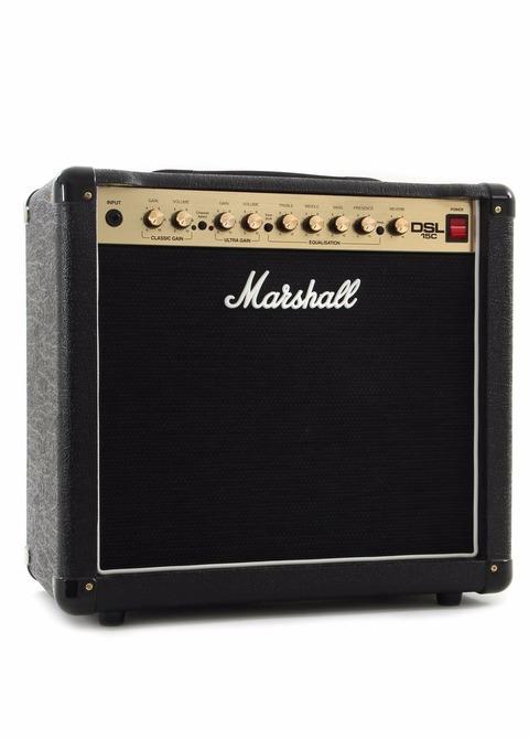 Amplificador para guitarra Marshall DSL 15C SERIE 2