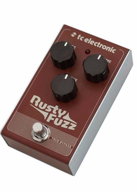 Pedal Tc Electronic Rusty Fuzz
