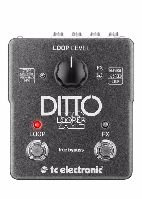 Pedal Tc Electronic Ditto X2 Looper