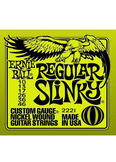 Encordado Guitarra Eléctrica Ernie Ball 010