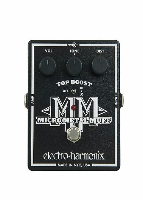Pedal Guitarra Eléctrica Electro-Harmonix Micro Metal Muff