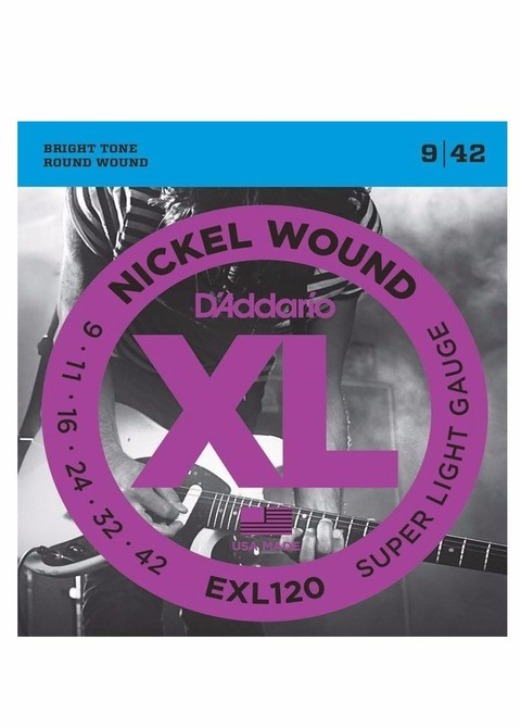 Encordado Guitarra Eléctrica D'addario EXL 009