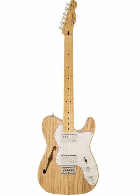 Guitarra Eléctrica Squier Telecaster Thin Line Modified Natural