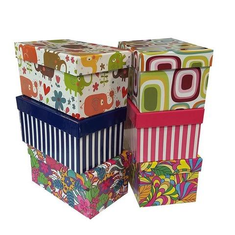 Caja de cartón plastificada Nº5 S