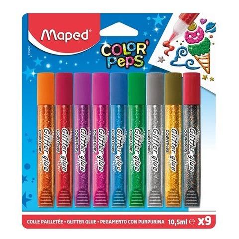 Adh. Glitter Maped x9